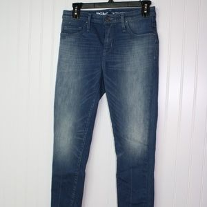 Mossimo High-Rise Jegging Crop Washed Blue Size 2